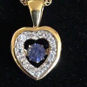 Jewelry - Masoala sapphire beating heart pendant